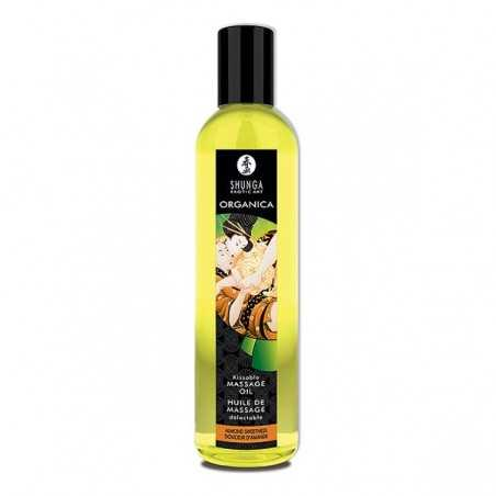 Massage Oil Organic Almond Sweetness Shunga SH1112
