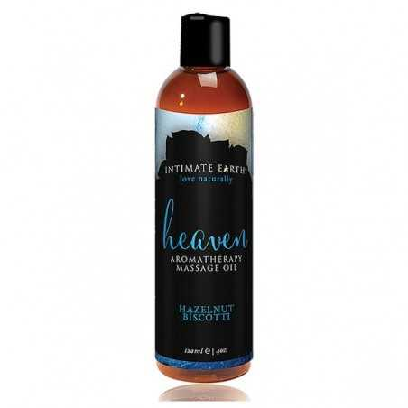 Massage Oil Heaven Hazelnut Biscotti 120 ml Intimate Earth 6202