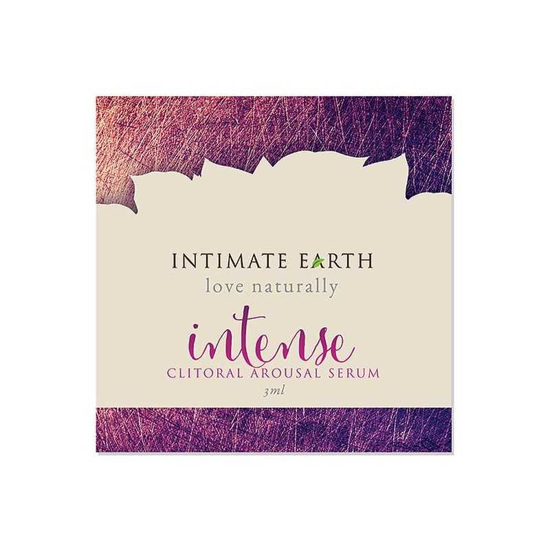 Intensives Klitorisstimulationsserum 3 ml Sachet Intimate Earth