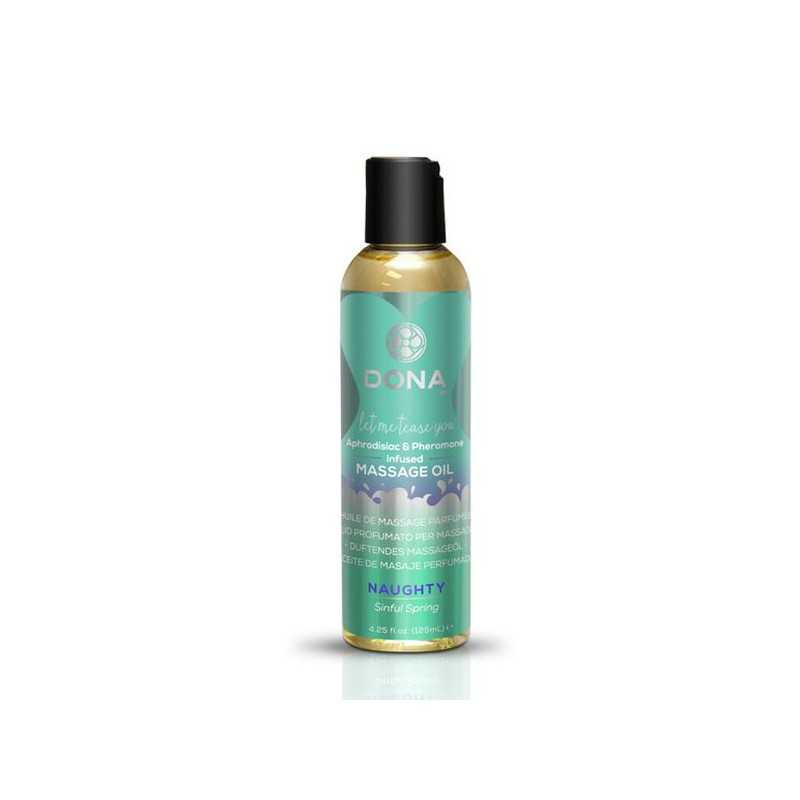 Scented Massage Oil Sinful Spring 110 ml Dona 5192