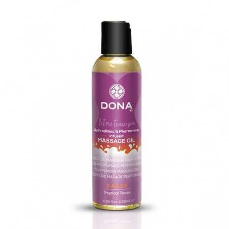 Óleo de Massagem Perfumado Tropical Tease de 110 ml Dona 5185