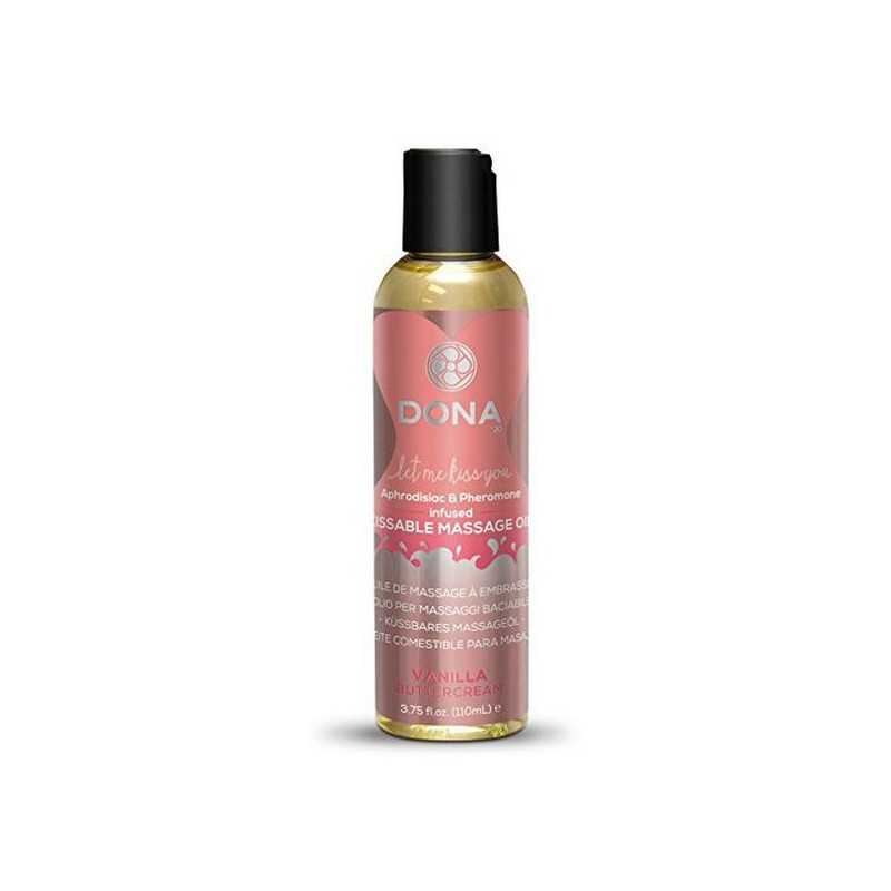 Kissable Massage Oil Vanilla Buttercream 12 Dona 5383