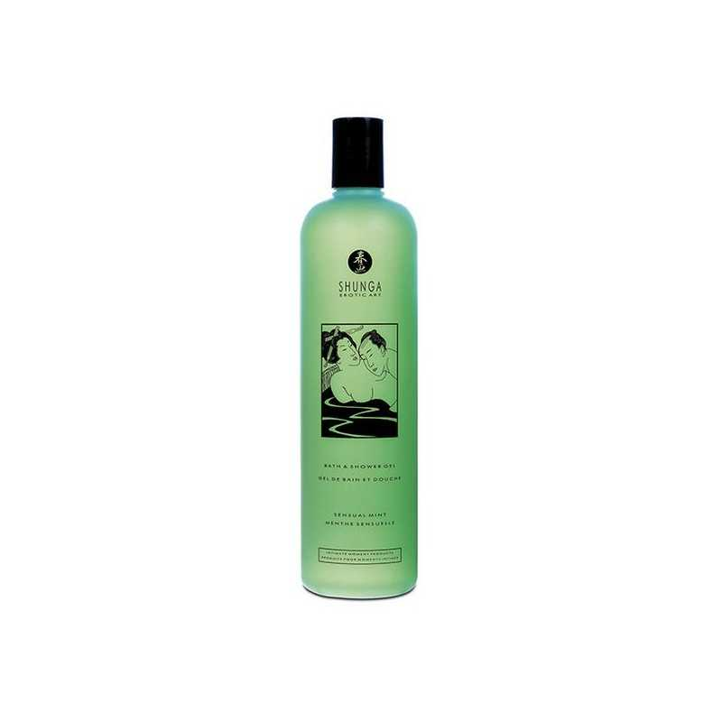 Sensual Shower Gel Shunga 65009 Mint (500 ml)