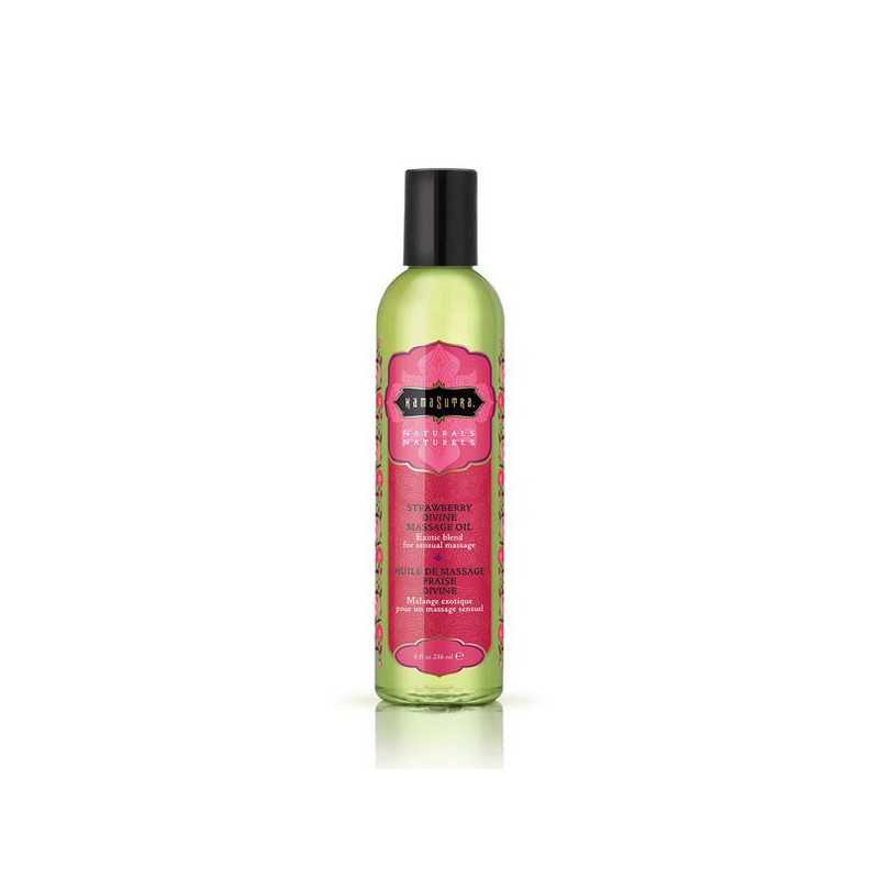 Naturals Massage Oil Strawberry Kama Sutra 10194