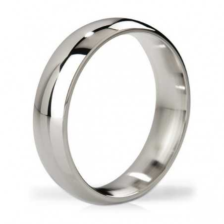 Earl Polished Steel Love Ring Mystim