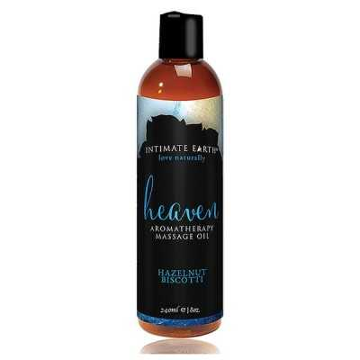 Massage Oil Heaven Hazelnut Biscotti 240 ml Intimate Earth 6219