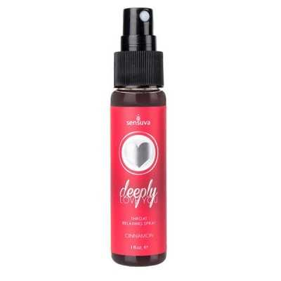 Throat Relaxing Spray Cinnamon Sensuva 07280