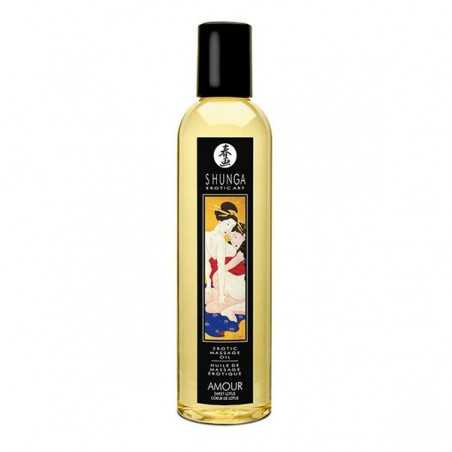Massageöl Lotusblume Shunga 10238 (250 ml)