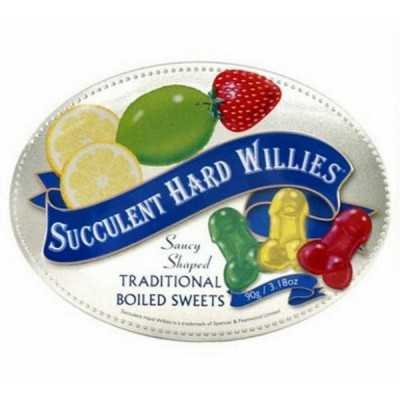 Pénis Comestíveis Succulent Hard Willies Spencer & Fleetwood