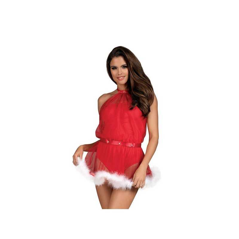 Christmas Nachthemd Santastic Obsessive