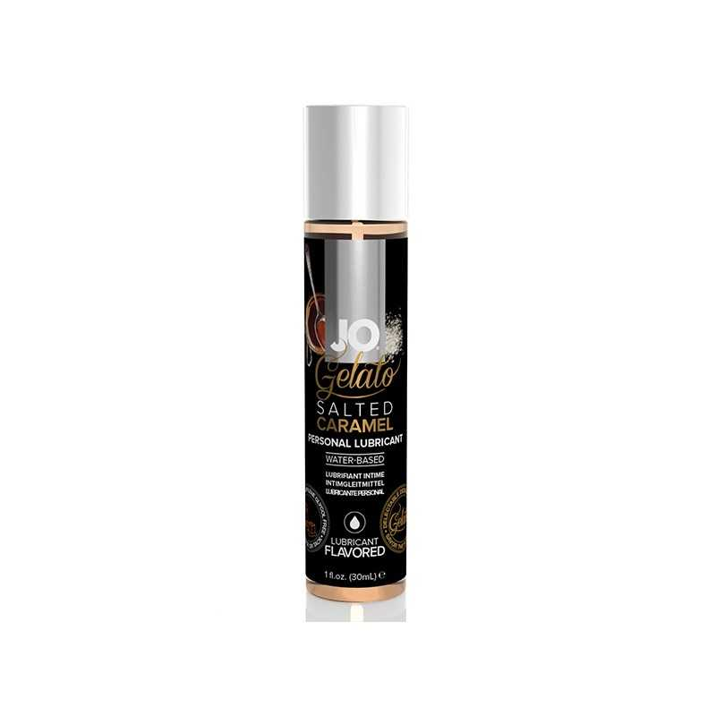 Gelato Salted Caramel Lubricant Water Based 30 ml System Jo