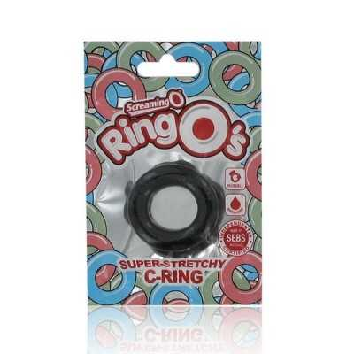 The RingO Penisring Schwarz The Screaming O RNG-101BLK
