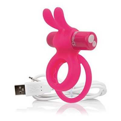 Charged Ohare Rabbit-Vibrator Pink The Screaming O 12525