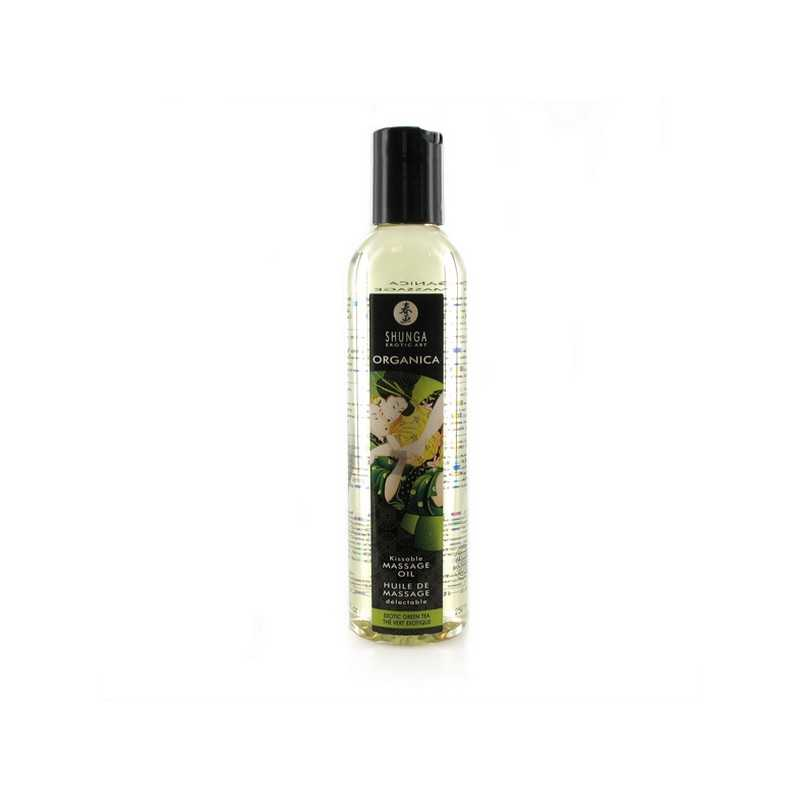 Massage Oil Organic Erotic Green Tea Shunga SH1100 (250 ml)