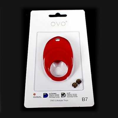 B7 Vibrating Ring Red OVO 99130