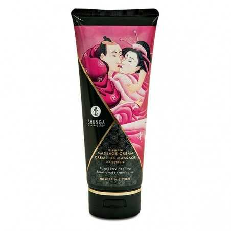 Massage Cream Raspberry 200 ml Shunga SH4101