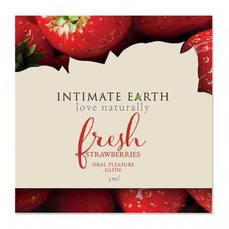 Lubrificante Oral Pleasure Fresh Strawberries Foil 3 ml