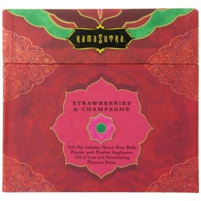 Treasure Trove Strawberry Kama Sutra 88300 (4 pcs)