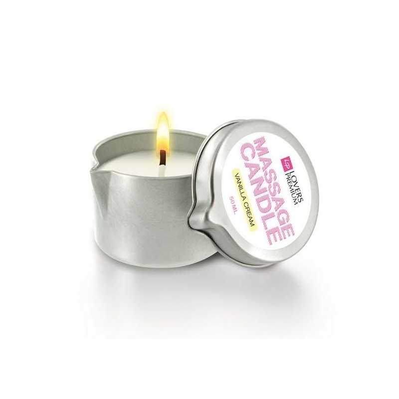Massage Candle Vanilla Cream LoversPremium E22039