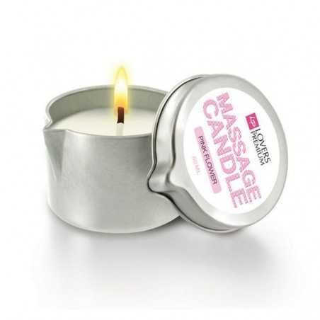 Massage Candle Pink Flower LoversPremium E22038