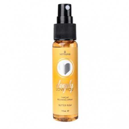 Throat Relaxing Spray Butter Rum Sensuva 07273