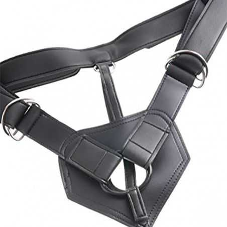 Strap-On Harness with 6 Inch Cock Flesh King Cock NS7068