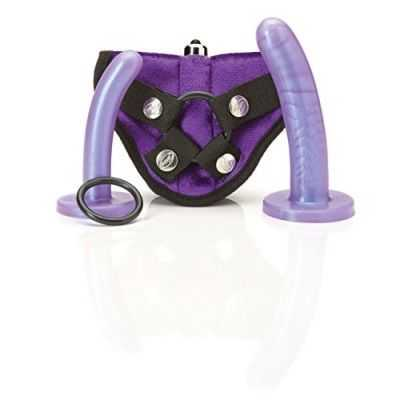 Bend Over Beginner Harness Kit Purple Haz Tantus 4008