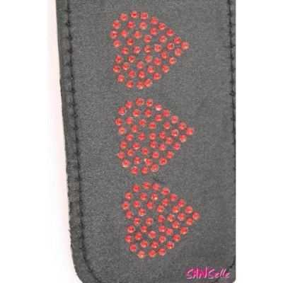 Leather Impression Paddle Hearts Sportsheets ESS902-01