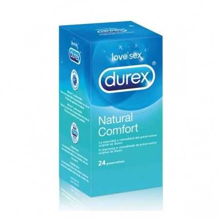 Preservativos Natural Plus Durex (24 Uds)