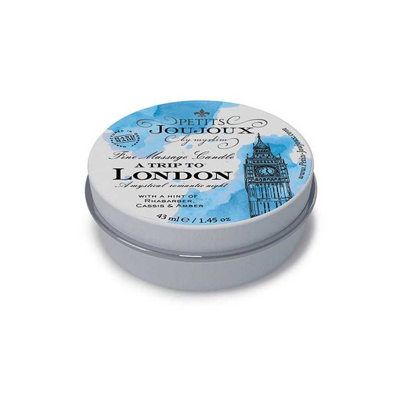 Vela de Massagem London (33 g) Petits Joujoux 67656