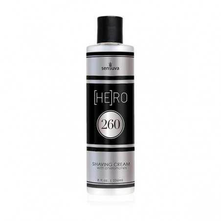HE(RO) 260 Male Pheromone Shave Cream 236 ml Sensuva 7662