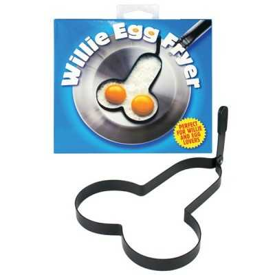 Rude Shaped Egg Fryer Willie Penisform für Spiegeleier Spencer