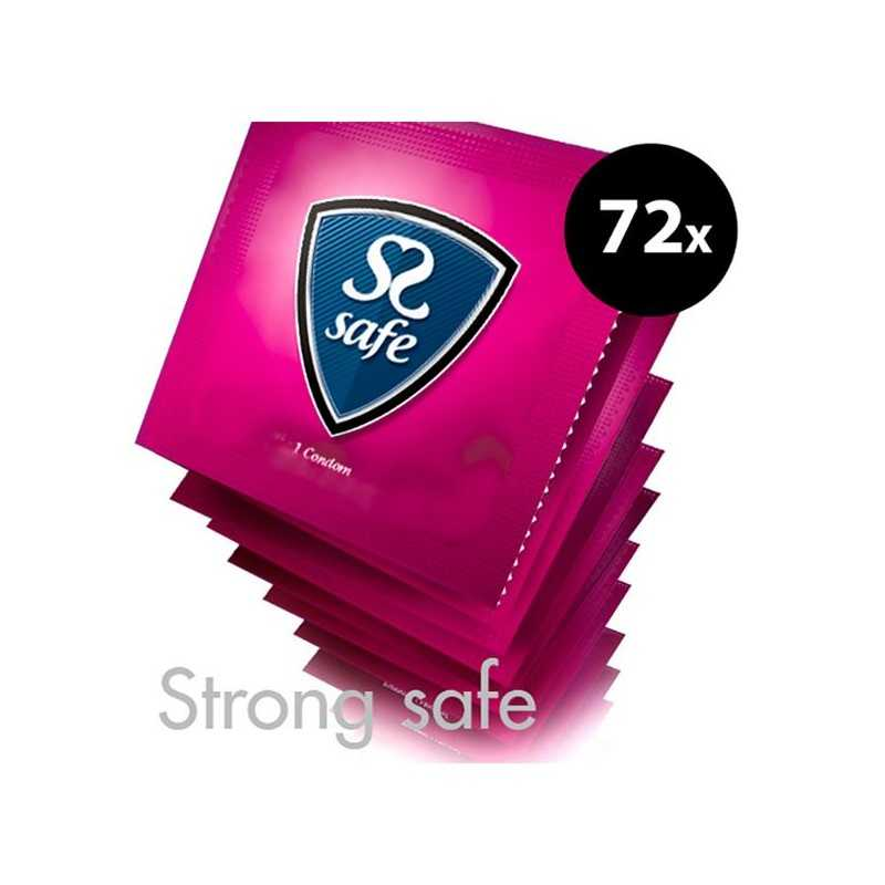 Strong Condoms (72 pcs) Safe E25162