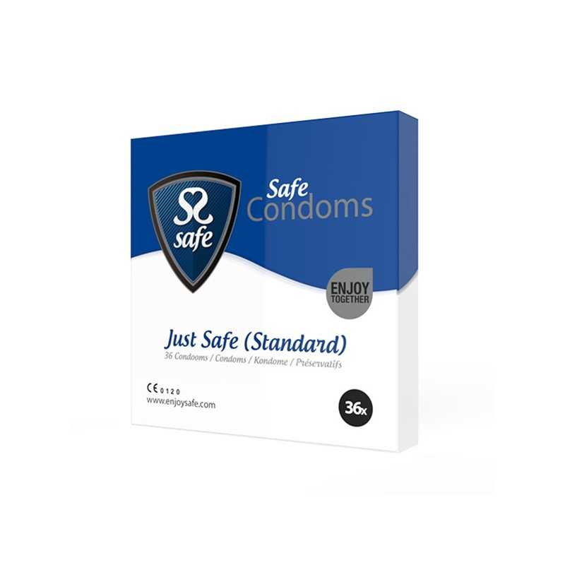 Just Safe Condoms Standard 36 pcs Safe 20442