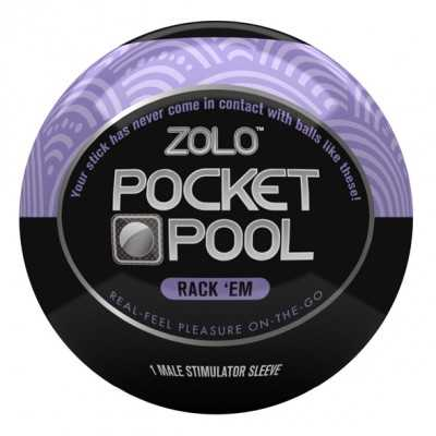 Pocket Pool Rack Em Zolo...