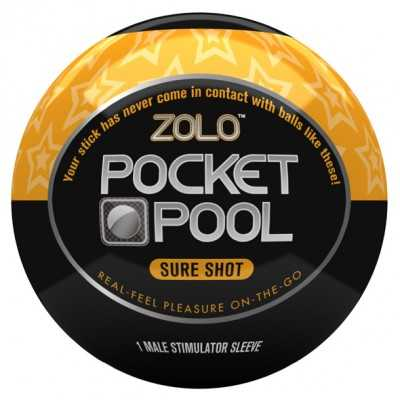 Pocket Pool Sure Shot Zolo...