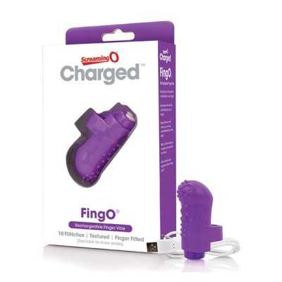 Charged FingO Finger Vibe Purple The Screaming O 12457