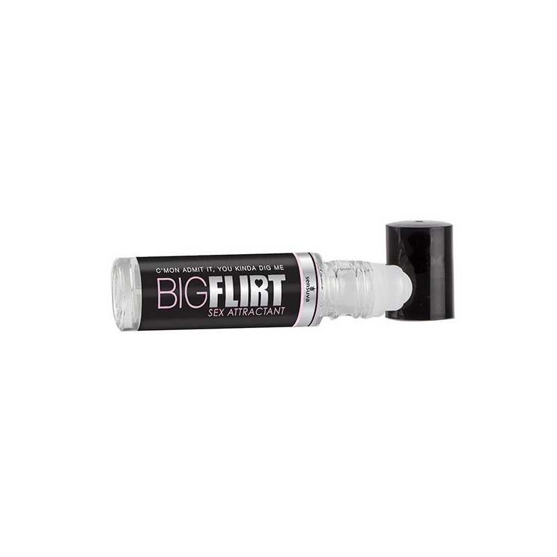 Roll-On de Feromonas Sexuais Atrativo Big Flirt de 10 ml