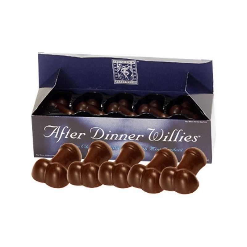 Pénis de Chocolate After Dinner Willies Spencer & Fleetwood