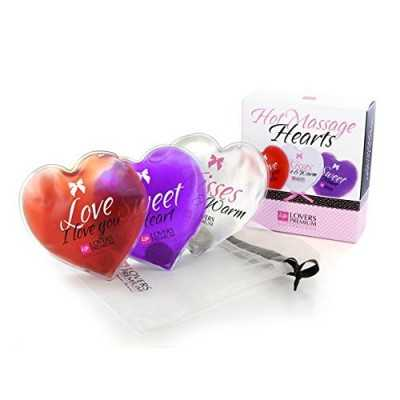 Hot Massage Hearts (3 pcs) LoversPremium E22007