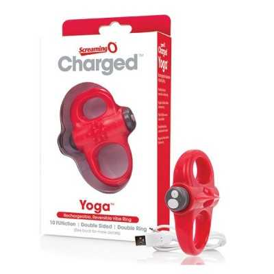 Charged Yoga Vibe Ring Red The Screaming O SCYVVR