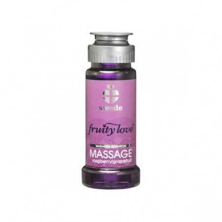 Massage Oil Fruity Love Raspberry Swede