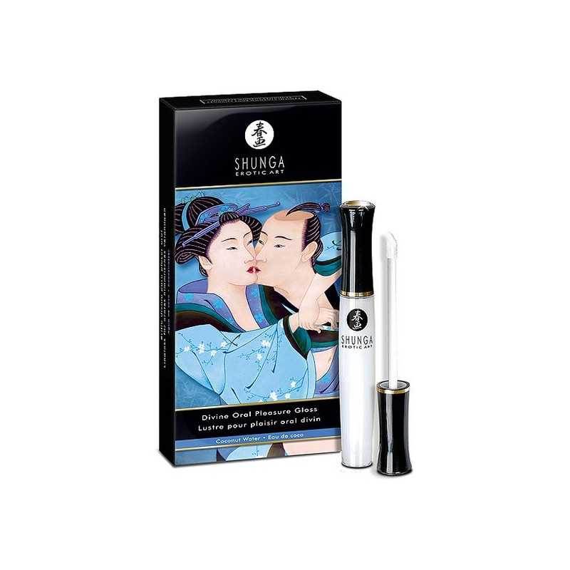Divine Oral Pleasure Gloss Coconut Water Shunga SH7910