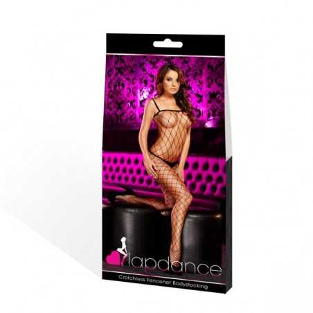 Bodystocking Fencenet Lapdance Black