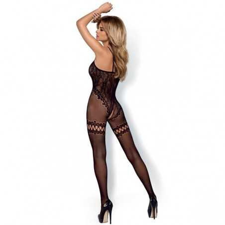 Bodystocking F213 Obsessive Black (Size xl/xxl)