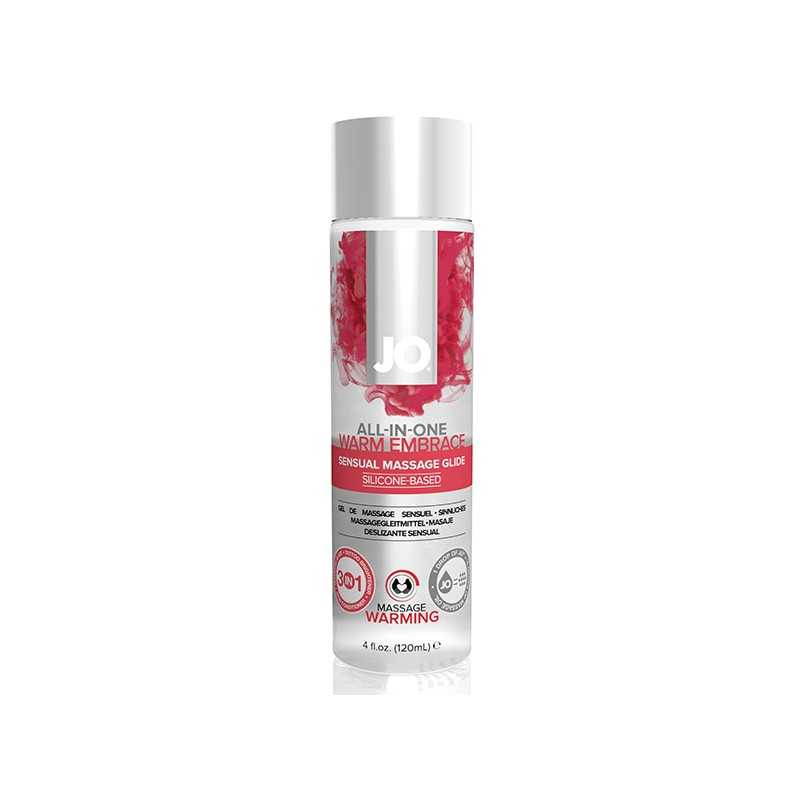Massagegleitmittel mit wärmendem Effekt 120 ml System Jo SJ40062